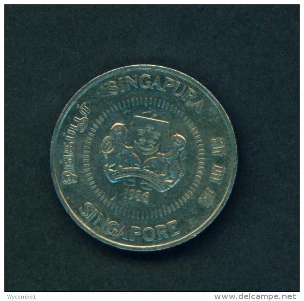 SINGAPORE - 1986 50c Circ - Singapore