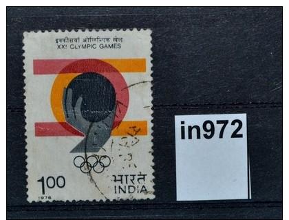 Olympische Sommerspiele Montreal 1976, Handball, India 1976 (0972) - Otros