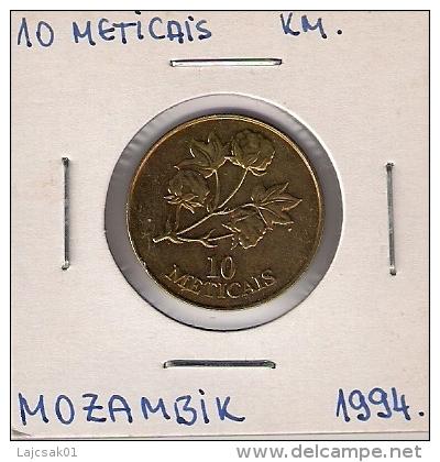 B4 Mozambique 10 Meticais 1994. - Mozambique