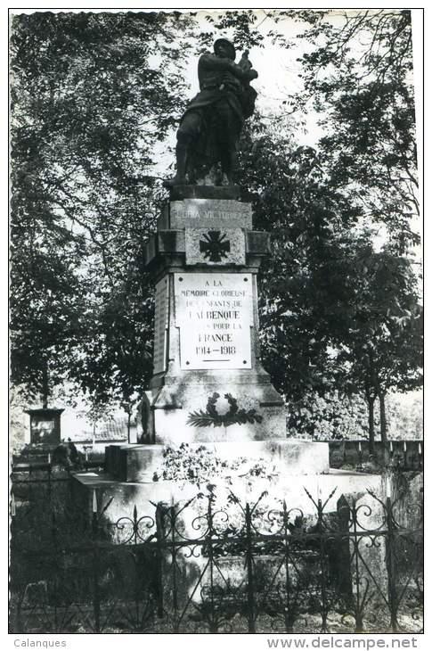 CPSM Lalbenque - Monument Aux Morts - Autres Communes