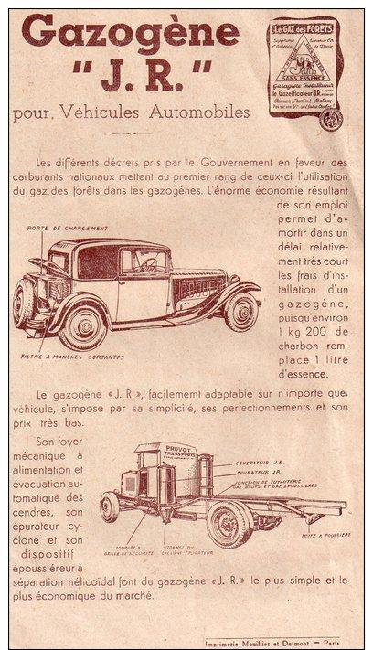 """Fscicule Publicitaire Des Fours Mobiles Et Fixes """" Ste J.g.rolland , Paris 13eme"""",concasseurs,granulateurs,gazogene - Publicités"""