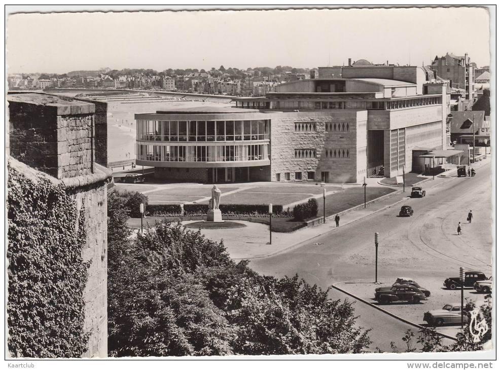 Saint-Malo: PEUGEOT 203, CITROËN TRACTION AVANT & AUTRES OLDTIMER VOITURES - Le Casino - Auto/Car - France - Toerisme
