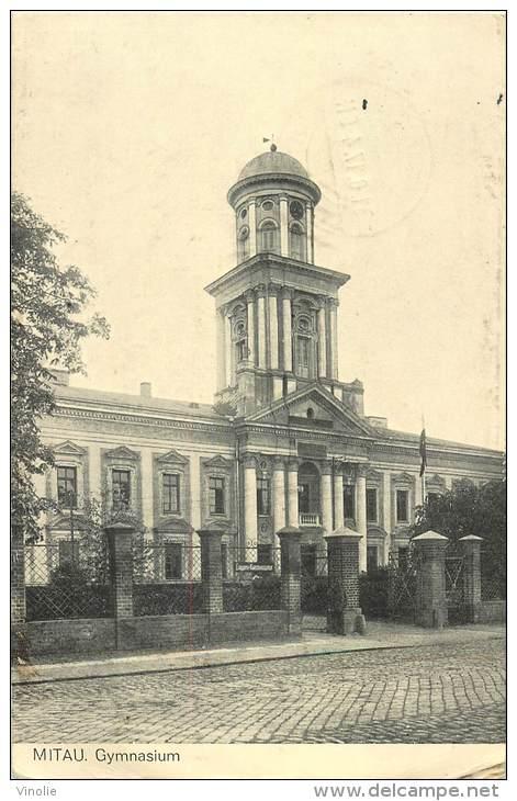 Réf : BO-13-304 : Lettonie Mitau (cachet Franchise Militaire Guerre De 1914-1918) - Lettonie