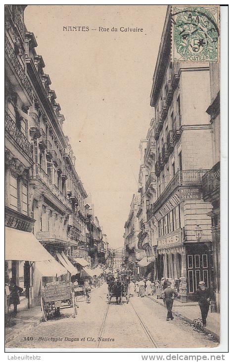 NANTES - Rue Du Calvaire - Nantes