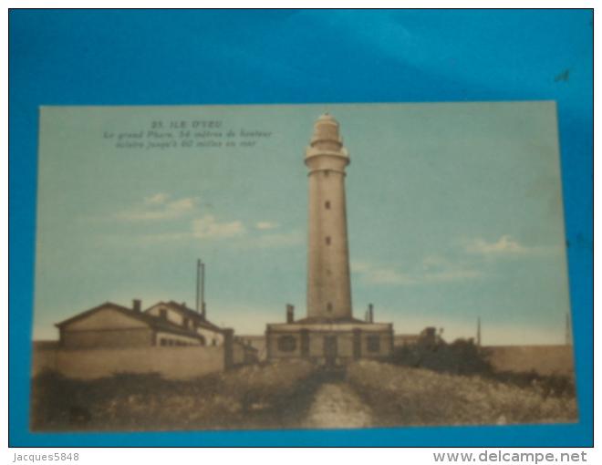 85) Ile D'yeu - N° 23 - Le Grand Phare  - Année  -  EDIT - Nozais - Ile D'Yeu