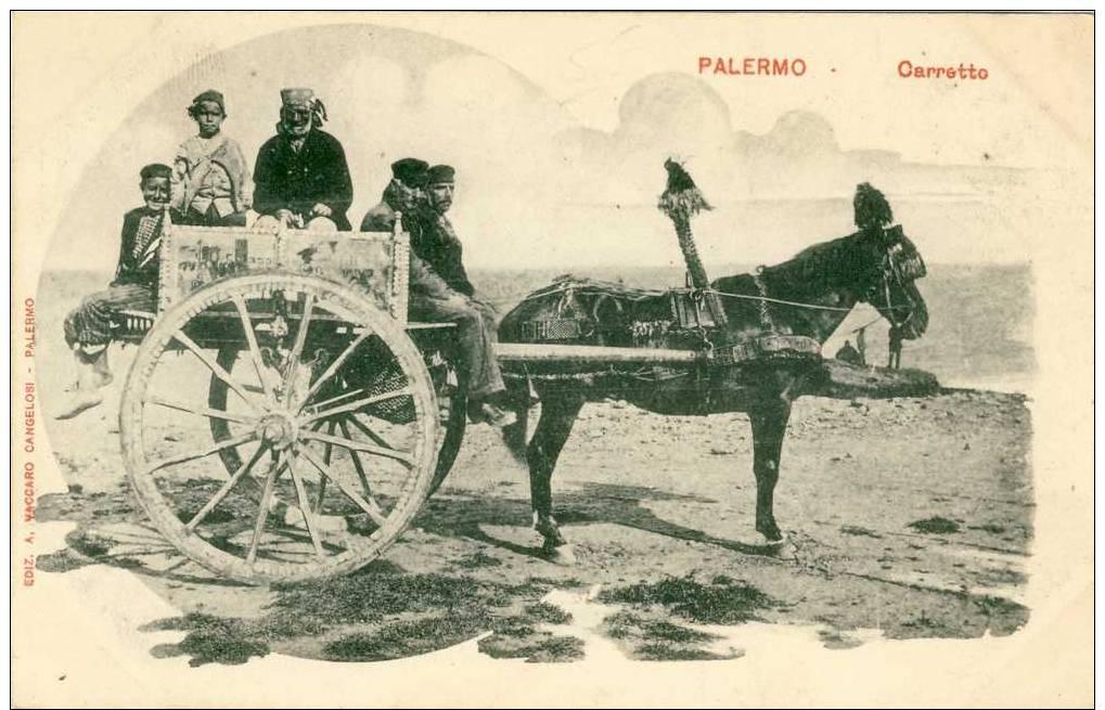 PALERMO    CARRETTO - Palermo
