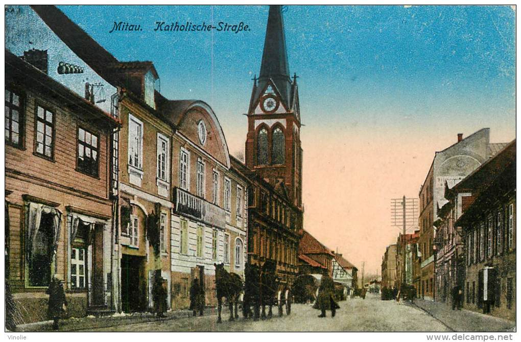 Réf : BO-13-400 : Mitau Katholische Stabe - Lettonie