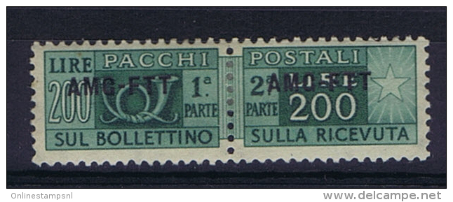 Italie Trieste Zone A AMG-FTT  Pachi Postali Nr 23  MH/* , - Ungebraucht