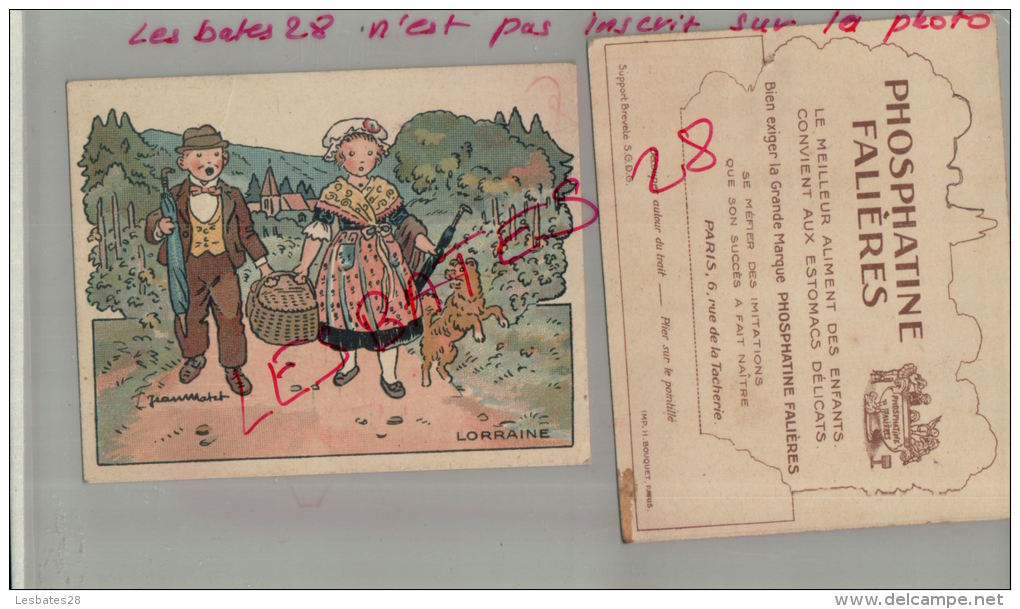 LITHOGRAPHIE, PHOSPHATINE FALIERES, LORRAINE , Par Illustrateurs,  Jean Matet,       AVRIL 2013  1218 - Andere