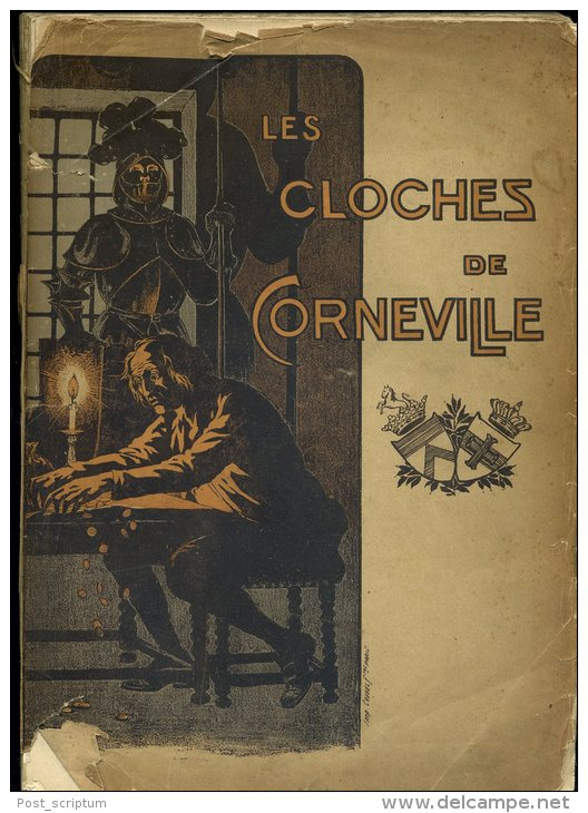 Musique - Partitions - Opéra Comique Les Cloches De Corneville Mus.   Robert Planquette Par. Clariville Gabet  VOIR ETAT - Opéra