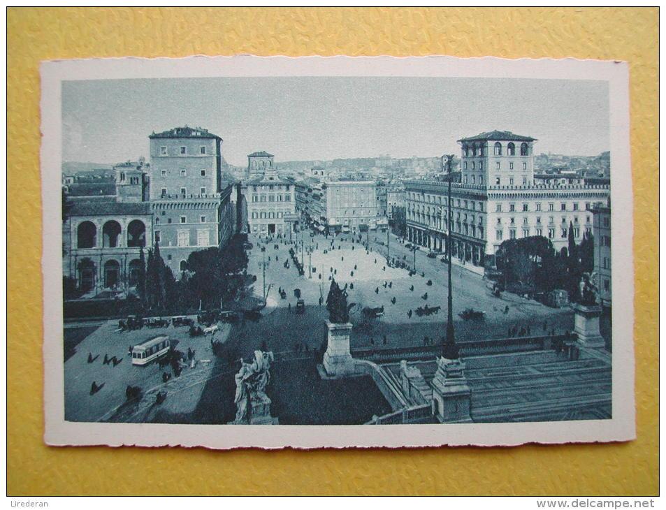 ROMA. La Place De Venise. - Places & Squares