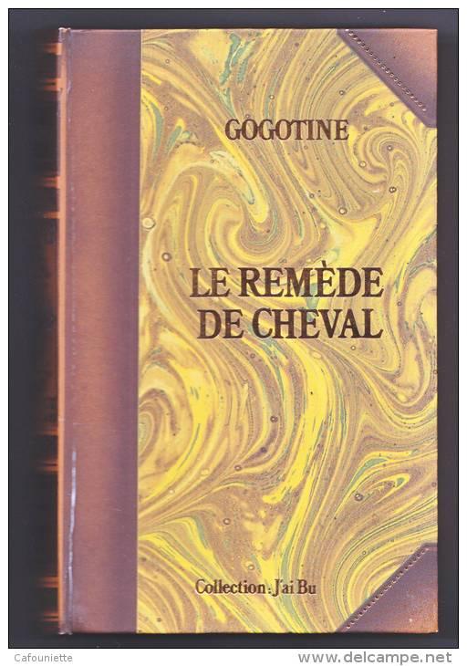 GOGOTINE - SCOTCH  WHISKY - Le Remède De Cheval - Coffret  Livre 4 Ampoules - - Whisky