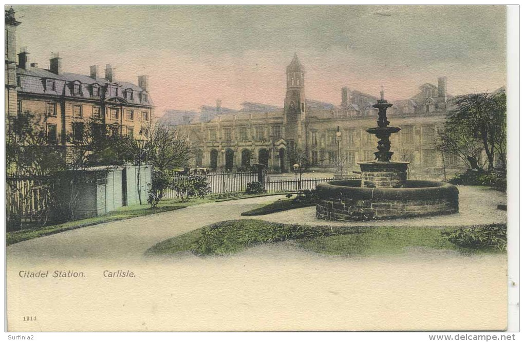 CUMBRIA - CARLISLE - CITADEL STATION Cu207 - Cumberland/ Westmorland