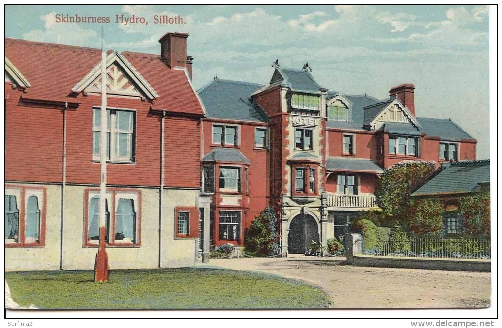 CUMBRIA - SILLOTH - SKINBURNESS HYDRO 1910  Cu558 - Cumberland/ Westmorland