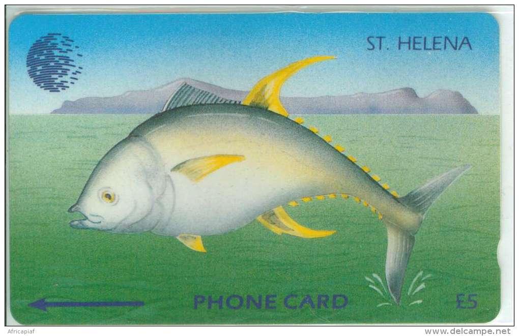 SAINTE-HELENE TUNA FISH Ref MV CARDS STH-10  962 Ex. RARE - Sainte-Hélène