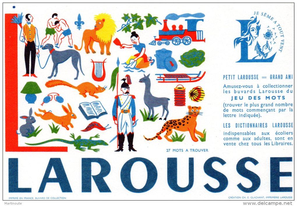 - BUVARD LAROUSSE - 147 - Papeterie