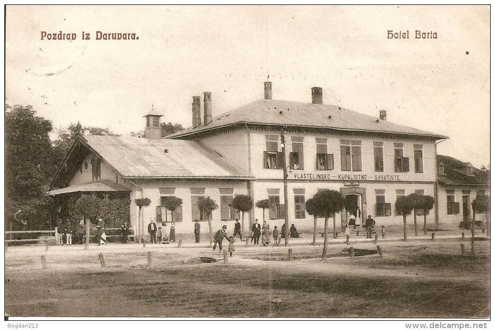 1900/1910 - DARUVAR,  Super  Zustand, 2 Scan - Croatia
