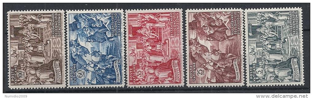 1951 VATICANO CALCEDONIA MH * - RR11695 - Vatican