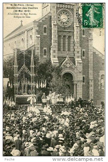 N°30740 -cpa St Paul -bénédiction Des Cloches- - Francia