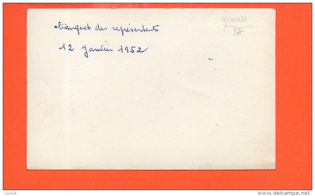 Banquet Des Représentants - 12 Janvier 1952 - Cartes Postales