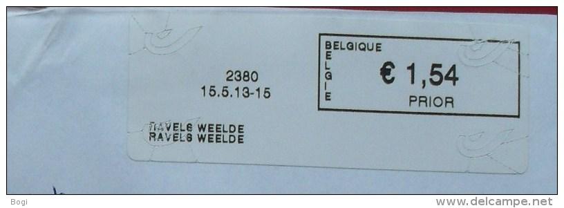 België 2013 Ravels-Weelde 2380 - Logo Bpost - Frankeervignetten