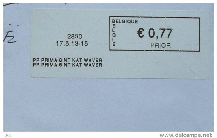 België 2013 PP Prima Sint Kat Waver 2860 - Frankeervignetten