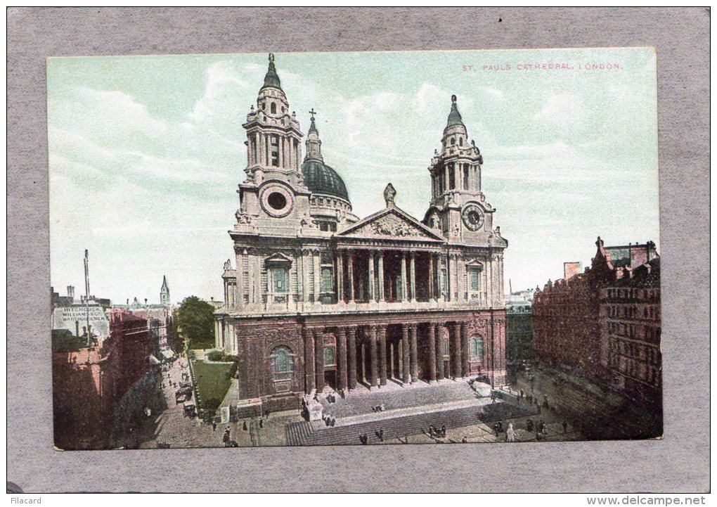 """40070     Regno  Unito,   London -  St.  Paul""""s  Cathedral,  NV - St. Paul's Cathedral"""