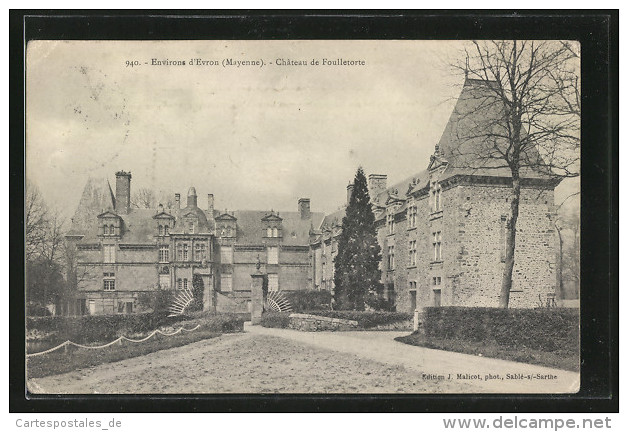 CPA Foulletorte, Chateau De Foulletorte - Sin Clasificación