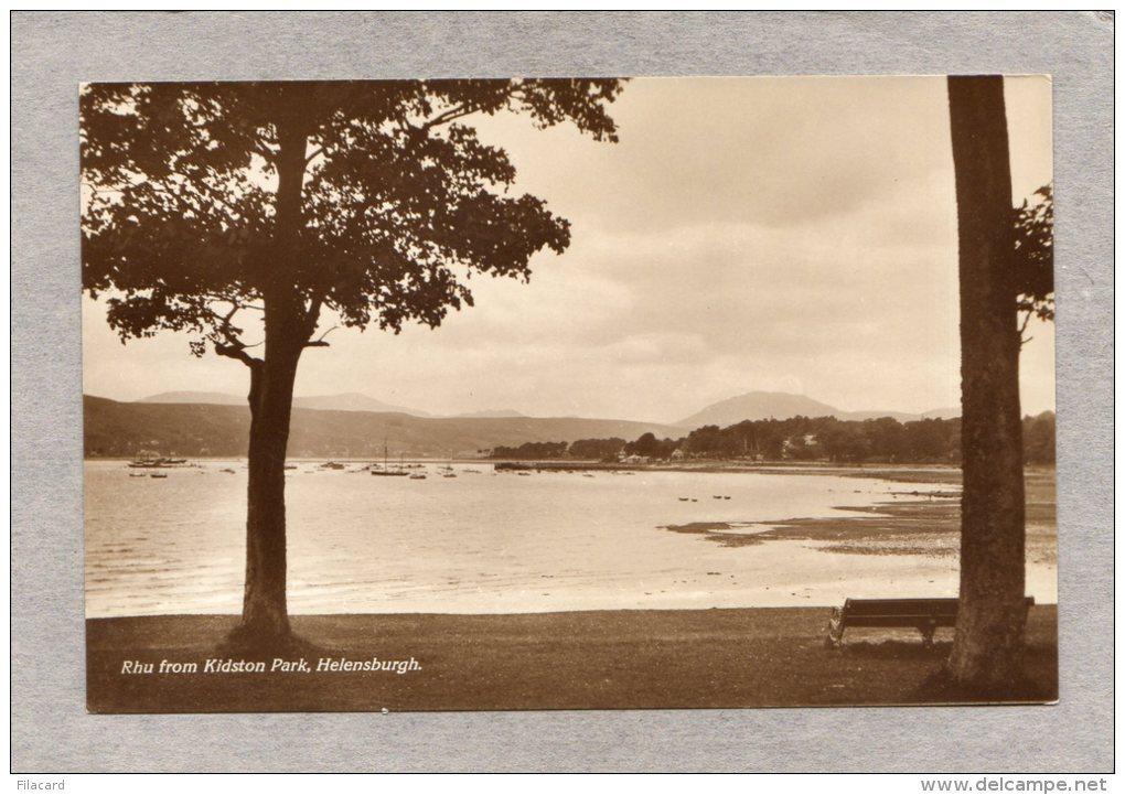 40096    Regno  Unito,  Scozia -  Rhu  From  Kidston  Park  -  Helensburgh,  NV - Argyllshire