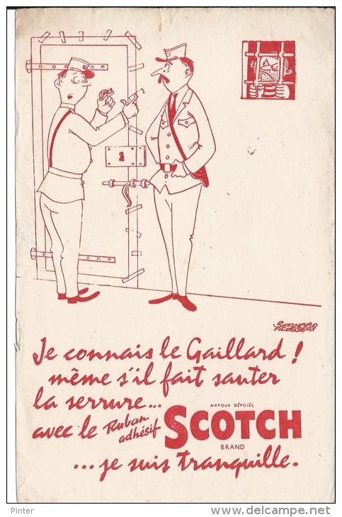 BUVARD - Ruban Adhésif SCOTCH - Buvards, Protège-cahiers Illustrés