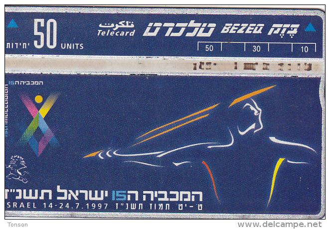 Israel, BZ-158, Maccabiah 15, Sport, 2 Scans. - Israel