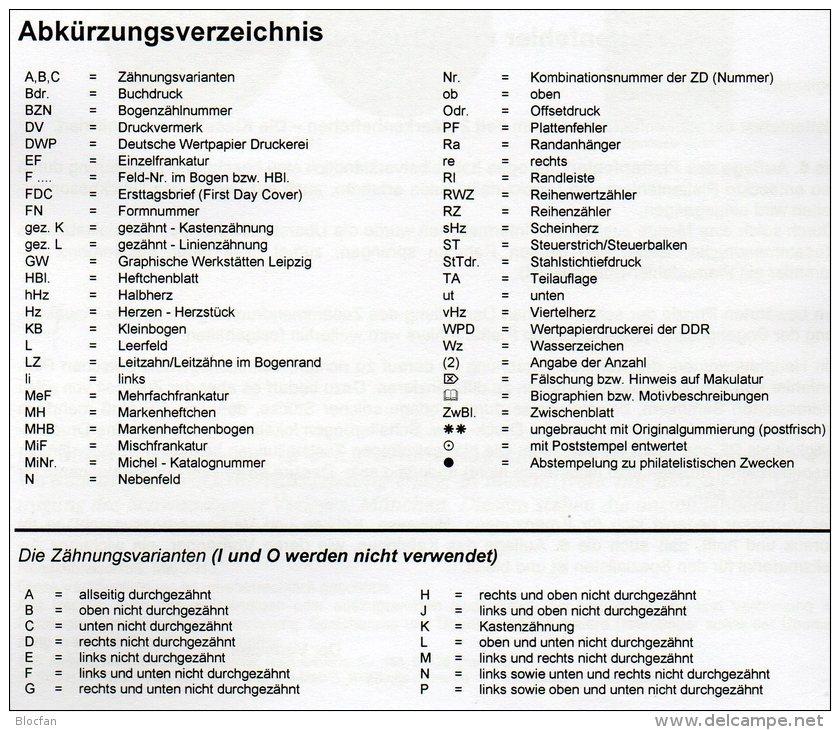 DDR Zusammendruck, Markenhefte+ Abarten Katalog 1-4 RICHTER 2013 Neu 100€ Se-tenant Booklet Special Catalogue Of Germany - Tarjetas Telefónicas