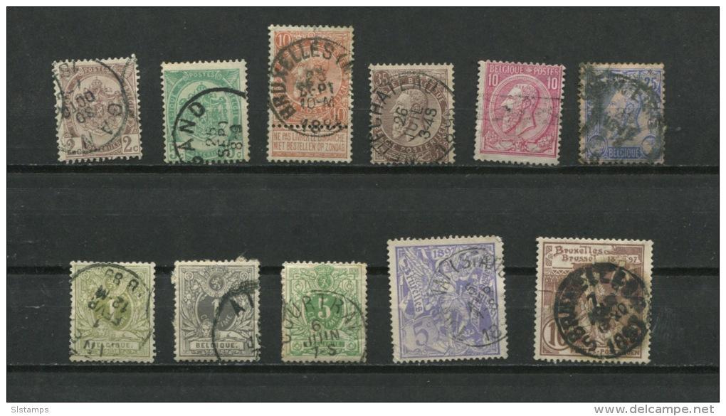 Belgium 1884-96 Accumulation Used - Belgium