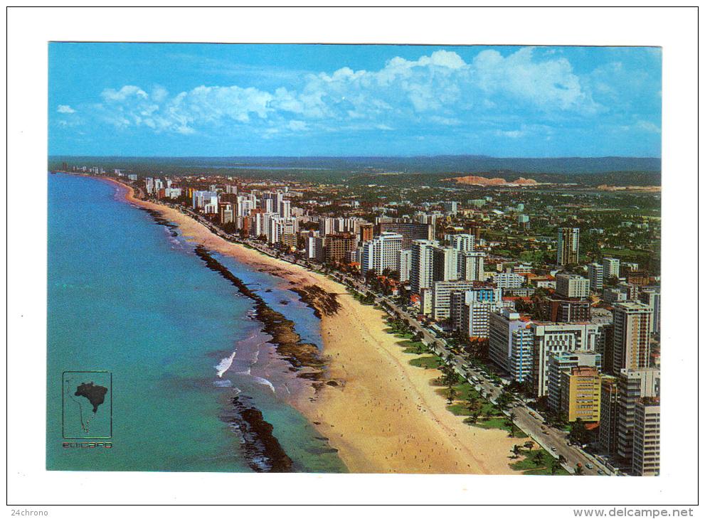 Bresil: Recife, Aerial View, Boa Viagem Site (13-1683) - Recife