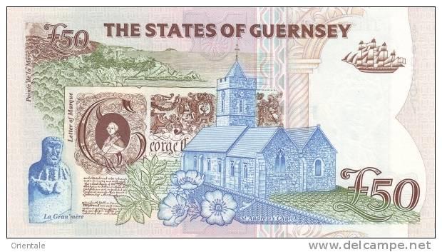GUERNSEY P. 59 50 P 1996 UNC - Guernsey