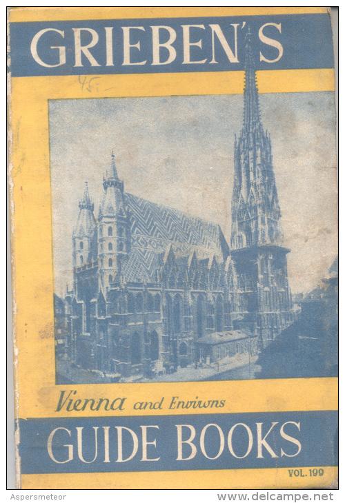 GRIEBEN'S VIENNA  HEIDELBERG  VOL. 199 150 PAGES WIHOUT COLOR MAP VERLAG CARL UEBERREUTER - Field Guides