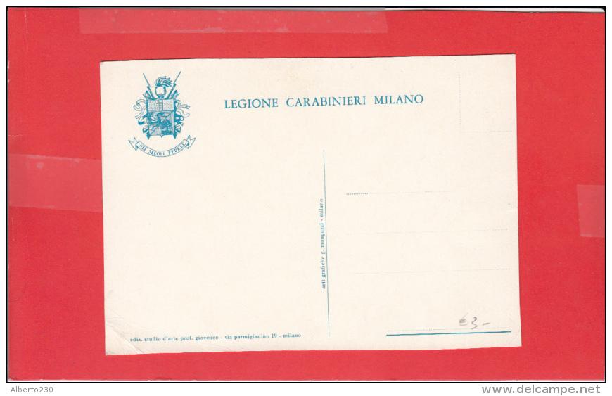 #G1091# LEGIONE CARABINIERI MILANO - Reggimenti