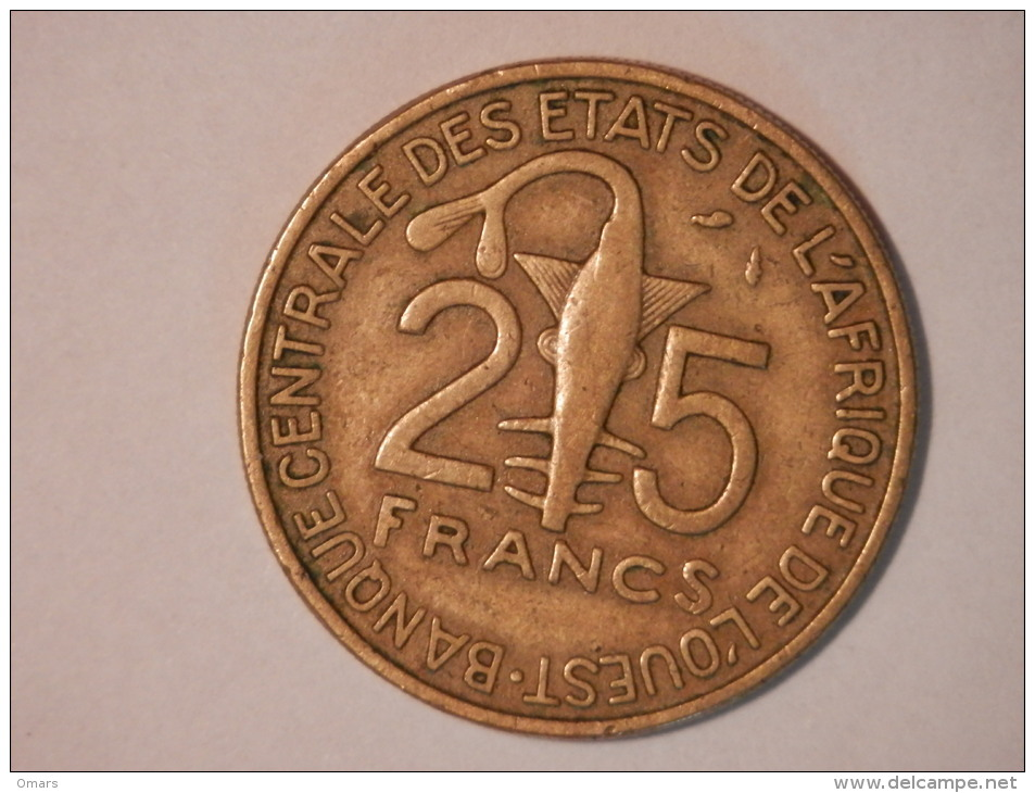 25 Francs 1981 - Western Sahara