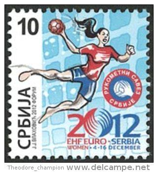 SERBIE EX-YOUGO Handball Féminin-Euro 12 1v - Hand-Ball