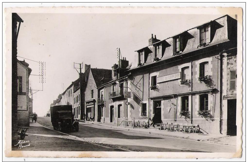 """35 - LIFFRE - CPSM - L'Hôtel Du """"Lion D'Or"""" - Unclassified"""