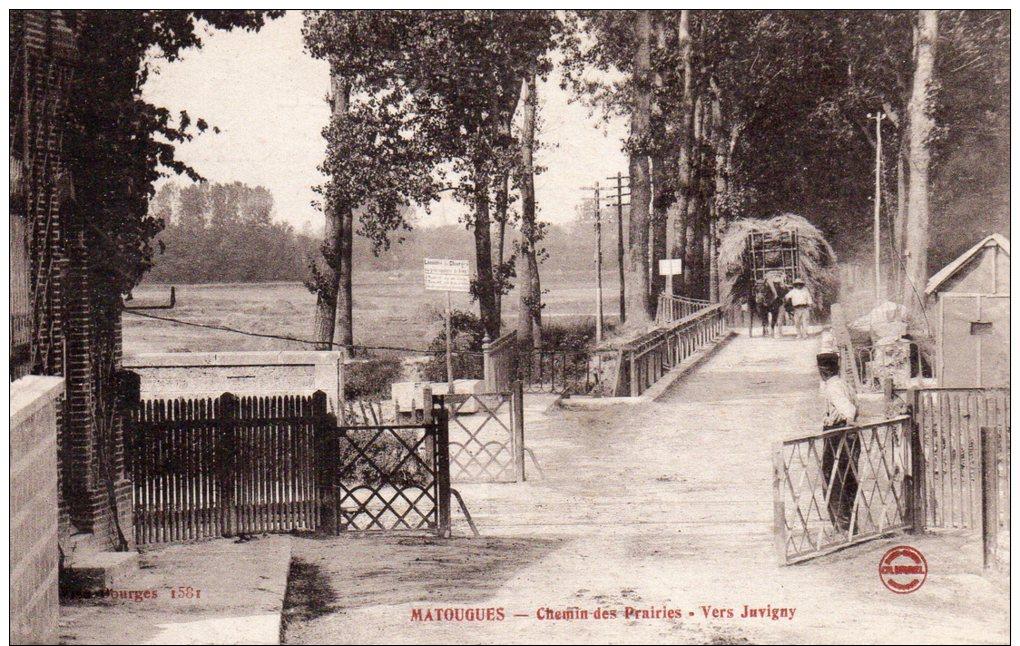 51 Matougues, Chemin Des Prairies, Vers Juvigny, Passage A Niveau - Autres Communes