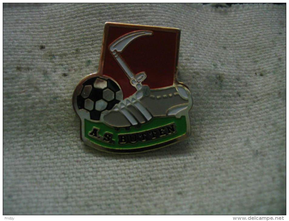 Pin´s Football: AS  BUTTEN - Calcio
