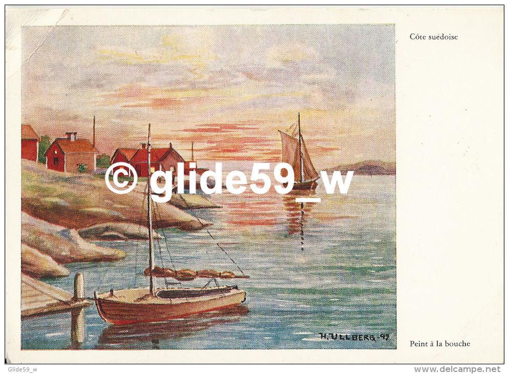 Côte Suédoise - Peint à La Bouche (H. Ullberg) - Peintures & Tableaux