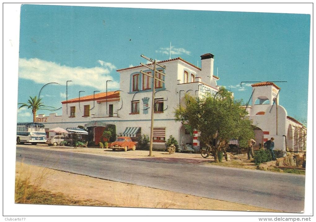 "Alcanar (Espagne, Cataluna) : Hôtel Restaurant ""Biarritz"" En 1960 (animé). - Vari"
