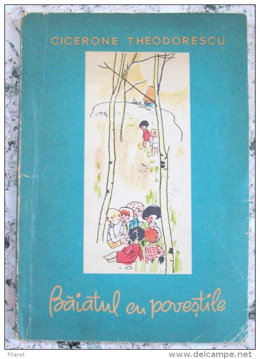 ROMANIA-BAIATUL CU POVESTILE,CICERONE THEODORESCU - Boeken, Tijdschriften, Stripverhalen