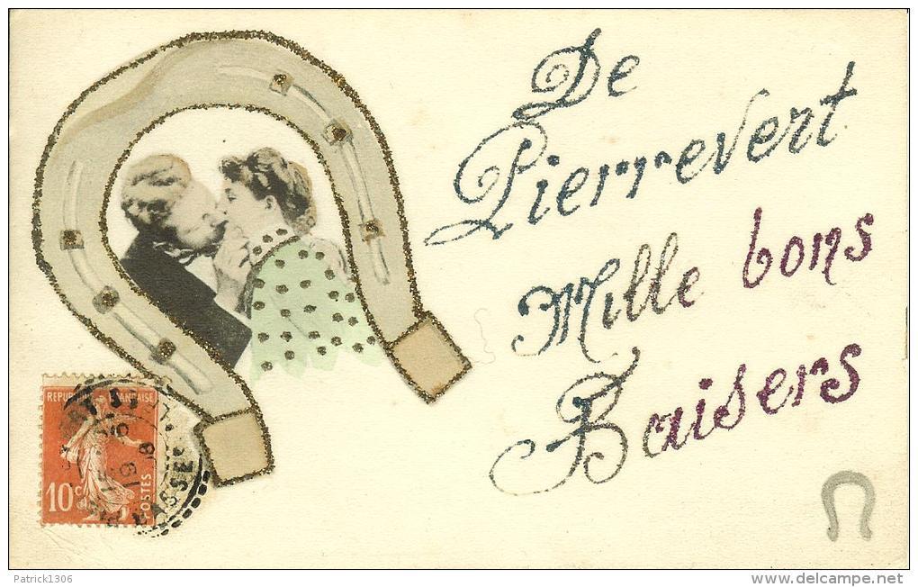 CPA  PIERREVERT, Mille Bons Baisers  8092 - Altri Comuni