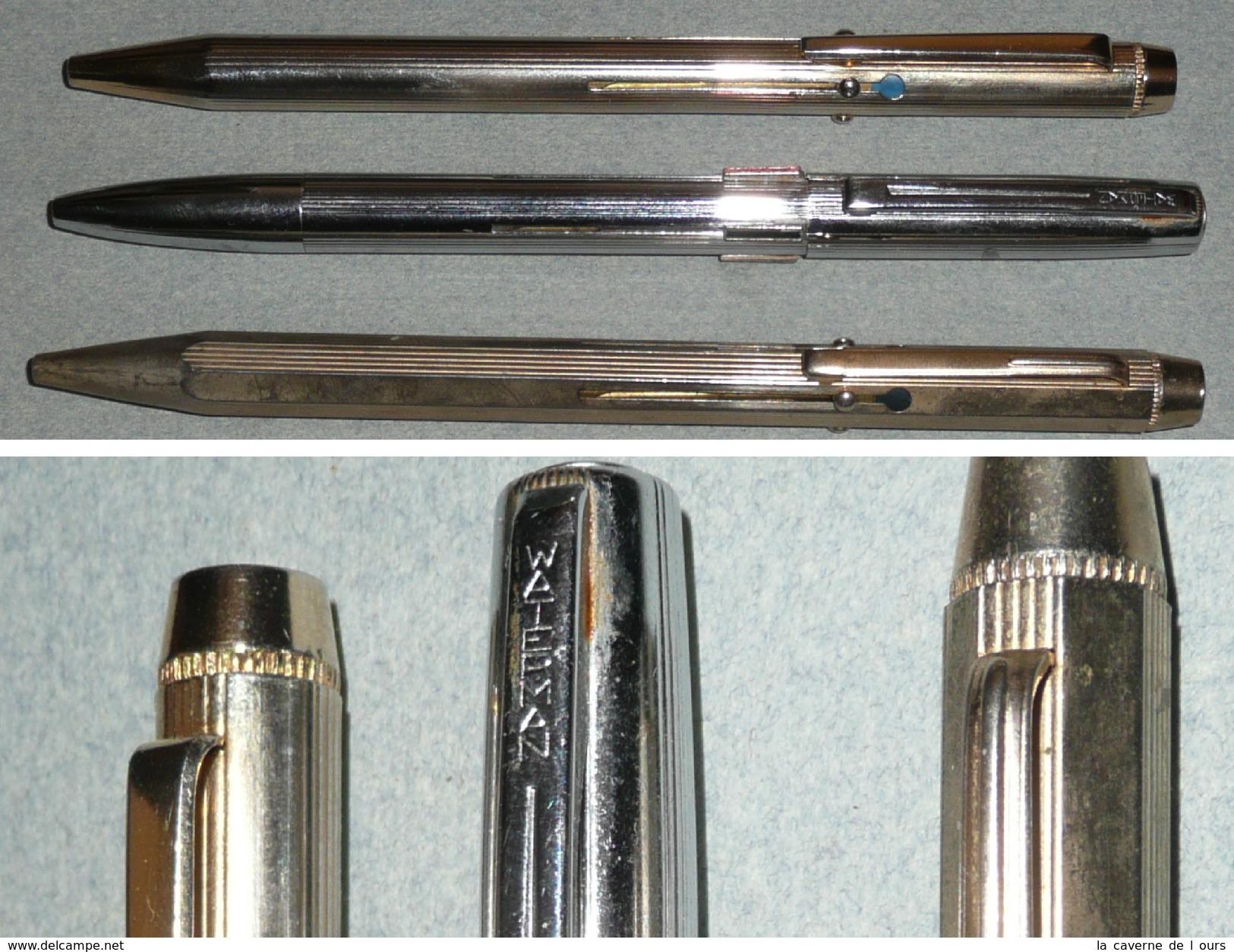 stylo waterman 4 couleurs