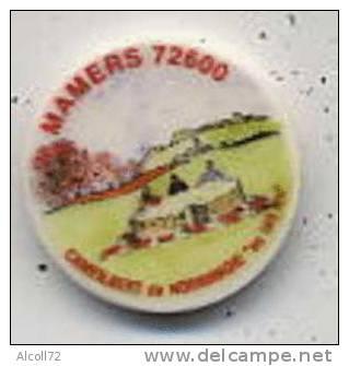 Fève : étiquette De Fromage Foire Aux Collectionneurs De Mamers - Fèves