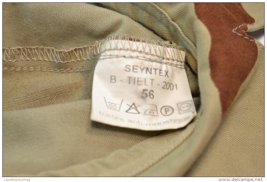 Casquette Style Bigeard Camo Camouflage Desert, Armée Française 2001. Taille 56 - Casques & Coiffures