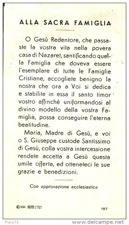 SACRA FAMIGLIA - Santini
